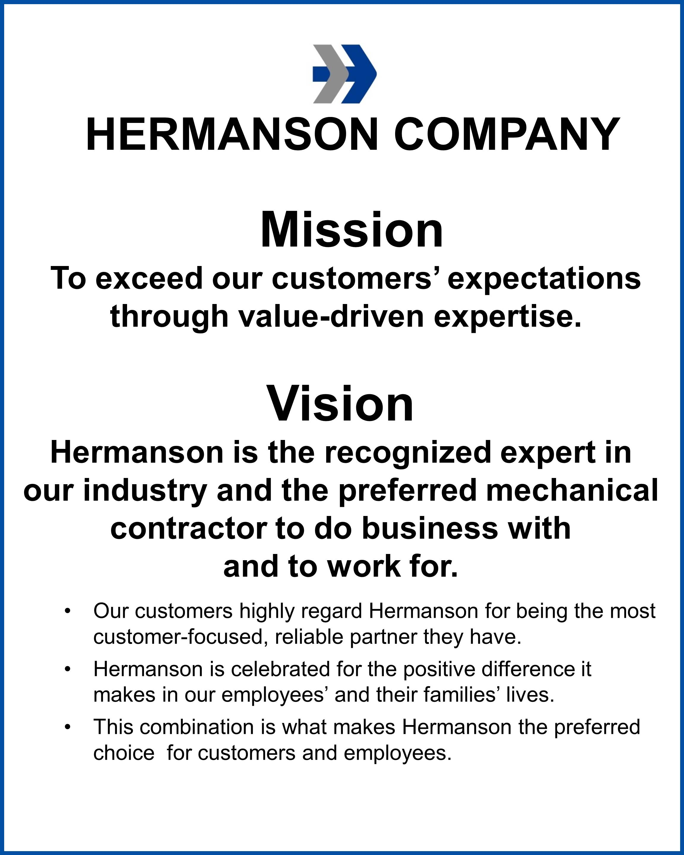 vision mission statements of rebisco company Table of contents i company profile nature of business vision-mission core values is the parent company of jollibee a fast-food consolidated statements of.
